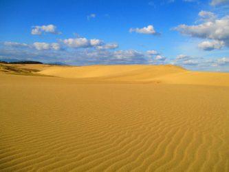 朝の鳥取砂丘散策