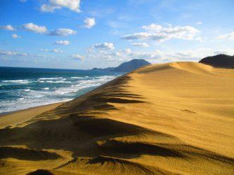鳥取砂丘の浸食について