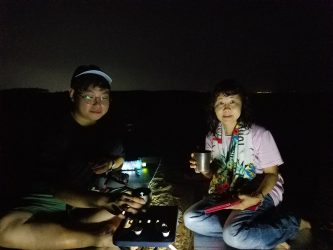 夜の砂丘観察会「ミステリーナイトウォーク」