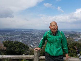 「鳥取城跡山上の丸」ガイドの下見