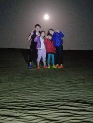 今年も始まりました「夜の砂丘・ミステリーナイトウォーク」